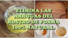Elimina las ARRUGAS del ROSTRO de forma NATURAL con tan solo estos ingredientes