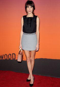 #AlexaChung wearing #LouisVuitton