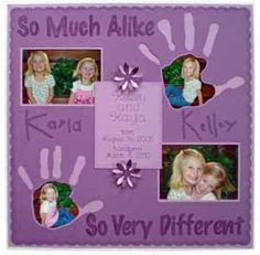 Scrapbooking.com -- Article - Handprint Memories