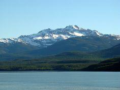 Kalum River Valley  and Kalum Mountains near Kitimat