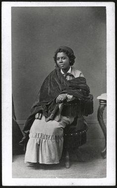Henry Rocher, Edmonia Lewis c. 1870   Harvard Art Museums/ Fogg Museum