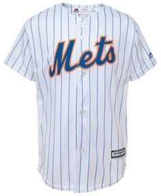 dee7c9669 Majestic Big Boys Robinson Cano New York Mets Player Replica Cool Base  Jersey - White XL