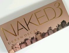 Urban Decay Naked3 Rose Gold Palette NIB SOLD OUT