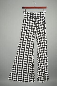 Knit Pants Houndstooth   B16