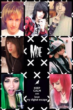Meet My Digital Escape! Featuring BryanStars, Johnnie Guilbert, Kyle David Hall, Jordan Sweeto, Jeydon Wale, Shannon Taylor, and Alex Dorame ;)