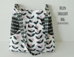 helen shoulder bag {new pdf pattern} | por s.o.t.a.k handmade