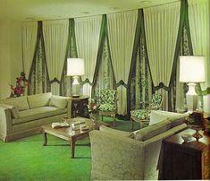 Smells like the 5 Retro Interior Design Ideas for Your Hip Living Room - Interior Design Inspirations 1950s Living Room, Living Rooms, 70s Home Decor, Living Vintage, Interior Decorating, Interior Design, Decorating Tips, 1960s Interior, Interior Trim
