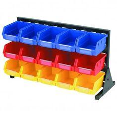 15 Bin Storage Rack