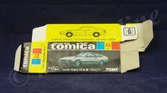 TOMICA 033D TOYOTA CELICA XX 2800GT | 1/64 | ORIGINAL BOX ONLY | 1982-1986 JAPAN