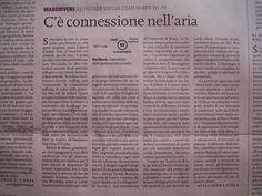 Nova 24 Ora: articolo sul wardriving by Tecnoetica, via Flickr