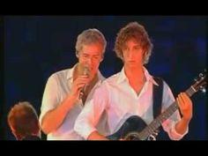"""Claudio Baglioni e figlio !! """"mai piu' come te"""" - """"Tutto in un abbraccio..."""