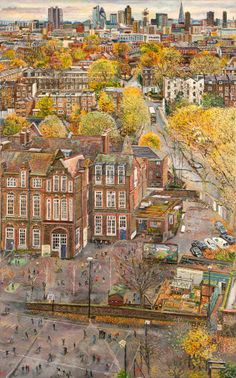 Melissa Scott-Miller, View of Canonbury school - The Independent