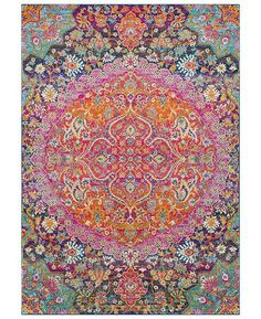 Surya Harput Garnet x Area Rug - Rugs - Macy's Light Grey, Jewel Tones, Rugs, Traditional Rugs, Trending Decor, Rugs Online, Carpet Colors, Vivid Colors, Area Rugs