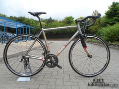 Photo: The Genesis Volare 20 made from Reynolds 931 stainless steel tubing