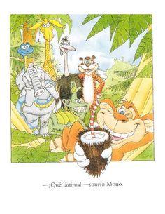 Los duendes y hadas de Ludi: La selva loca Painting, Fictional Characters, Pandora, Arch, Rainforest Animals, Elves, Fairies, Learning, Reading