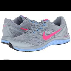 0527855bcca1 Nike dual fusion run 3 light magnet grey white university blue hyper pink