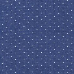 Robert Kaufman SRK-14728-11 ROYAL from Cotton Chambray Dots  Contents: 100% COTTON Width: 57'' wide Weight: 3.98 oz. per square yard.