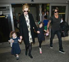 Keith Urban Photos: Nicole Kidman and Family at LAX July 2, 2014.