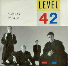"Level 42 ""Lessons in Love"" 7"" vinyl single (1986)"