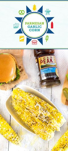 This recipe for Parmesan Garlic Corn on the Cob puts a flavorful spin on your favorite summer side dish. By whipping up this star vegetable on the grill and pairing it with Gold Peak® sweet tea, your outdoor dinner menu is really coming together! So before you fire up the barbecue, head over to Sam's Club to find all the essentials and ingredients you need to enjoy the beautifully warm weather.