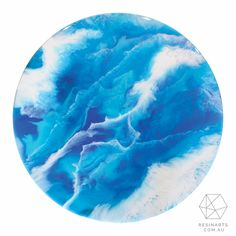 Return To The Sea Side Table | Home Decor | Oraco Resin Arts