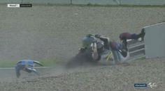 Moto2 - Vídeo: O acidente de Álex Márquez