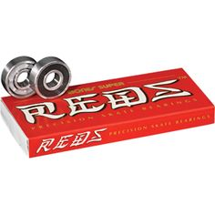 33021076ca5 Bones Super Reds Skateboard Bearings (SINGLE SET) Skateboard Shop