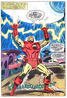 Iron Man by Don Heck, Avengers Annual #1 Sept_1967