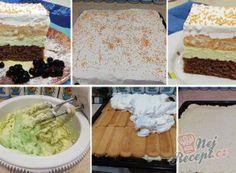 Pizza kornoutky se šunkou a sýrem Vanilla Cake, Cereal, Pizza, Breakfast, Desserts, Food, Basket, Author, Morning Coffee