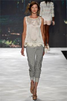 Sfilata Badgley Mischka New York - Collezioni Primavera Estate 2013 - Vogue