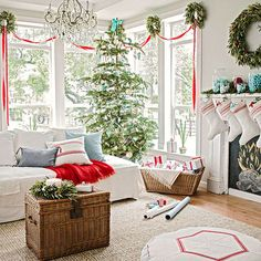 Five warming interior designs for your living room this Christmas