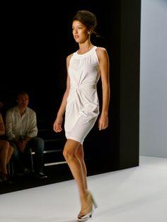 Rebekka Mir at MINX by Eva Lutz Spring/Summer 2013 - Mercedes Benz Fashion Week - http://olschis-world.de/  #MINX #Womenswear #fashion