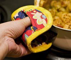 Finger Hot Pad Potholders Easy to Make