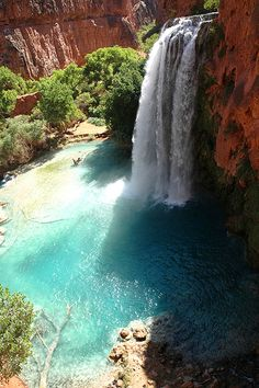 Havasupai Falls! Hopefully Mike and I will get a chance to visit before leaving Arizona