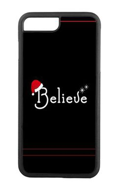 MERRY CHRISTMAS BELIEVE IPHONE 5 6 6S 7 CASE  #Apple