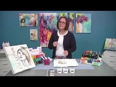 Donna Downey: 'Painting' with Gelatos - YouTube