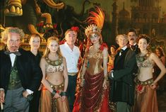 Cast of the 2004 movie version of Phantom of the Opera.