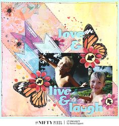 The Nifty Pixel| Thinking Outside the Square Nifty, Something To Do, The Outsiders, Workshop, Scrapbook Layouts, Scrapbooking, Love, Projects, Fun