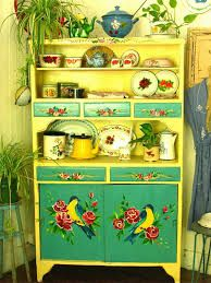 boho gypsy painted furniture - Google Search