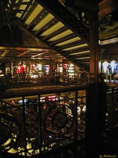 Forbidden pictures I by Shahrazad26, via Flickr  The gorgeous interior of Abercrombie & Fitch at the Champs Élysées in Paris. Unfortunately it is not allowed to make pictures.