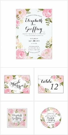 """#30 - Romance Garden Wedding Stationery Suite 