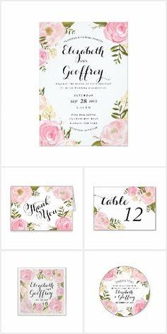 #30 - Romance Garden Wedding Invitation Suite - **Explore Lots of Wedding Invitaion Sets at... http://www.Zazzle.com/WeddingInvitationKit