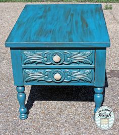 End table painted in Websters!
