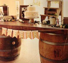 Idee per arredamento con botti e barrique usate pour for Botti in legno per arredamento