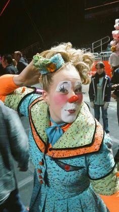 Ringling Bros clown