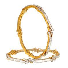 Prince Jewellery Diamond Bangle - Product Code : 3-9649