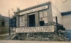"Historic Crystal Park Auto Trip, 1910, billed as the ""Scenic Wonder Trip of the World"""