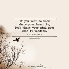 Heart and Mind Mind And Heart Quotes, Heart And Mind, Path Quotes, True Quotes, Cross Paths Quotes, I Love You Means, Eyes On The Prize, Mindfulness Quotes, Smile Quotes