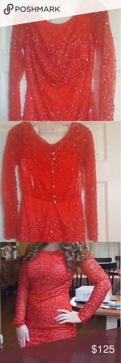 I just added this listing on Poshmark: Red sparkle dress. #shopmycloset #poshmark #fashion #shopping #style #forsale #Hannah #Dresses & Skirts