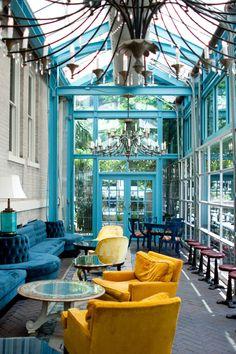 Hotelier Liz Lambert's whimsical approach is evident everywhere. #Jetsetter